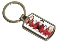 Custom Printed Keyring free Gift Box, Family, Logo, Kids, Pets, Children